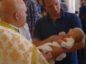 Крещение Иоанна  Демьянова 05.07.2015