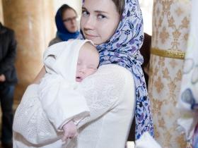 Крещение Аси Лебедевой
