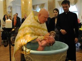 Крещение Екатерины Молоток 11.09.2016