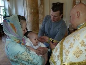 Крещение Фёдора Гретчина