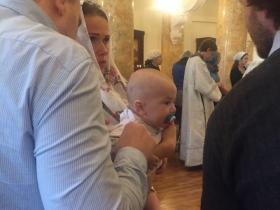 Крещение Матфея Яценко