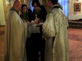 Крещение Никиты Комарова