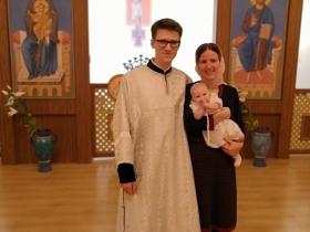 Крещение Аглаиды Купцовой