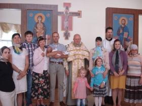 Крещение Егора Андроновского