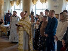 Крещение в Лазареву субботу