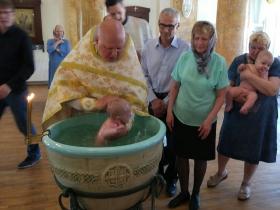Крещения в общине неслышащих