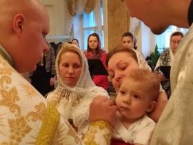 Крещение в Рождественский сочельник