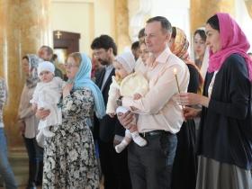 Крещение Ивана Мясникова и Анны Борисовой