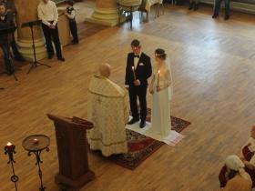 Венчание Ивана и Ксении