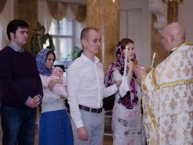 Венчание Ирины и Дмитрия Лебедевых