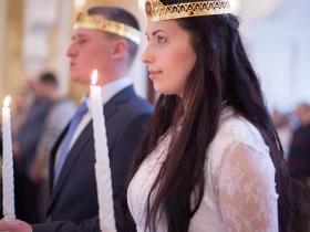 Венчание Юрия и Юлии Вальдановых