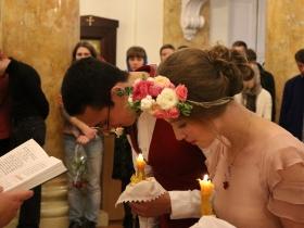 Венчание Дмитрия и Анастасии Рисовых