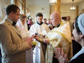 Венчание Павла и Марии Андроновских