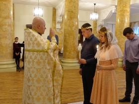 Венчание Евгения и Ирины Гнедовых