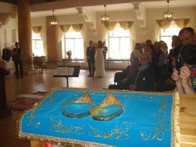 Венчание Романа и Наталии Кокуриных