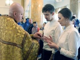 Обручение Максима и Натальи Макаровых