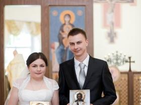 Венчание Петра и Марии Успенских