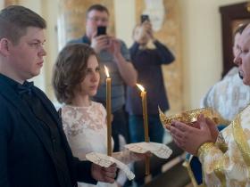 Венчание Алексея Радоминова и Веры Федченко