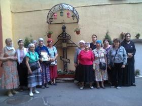Паломничество общины слабослышащих по Санкт-Петебургской епархии 2016