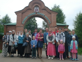 Паломничество общины глухих и слабослышащих по Санкт-Петебургской епархии 2015