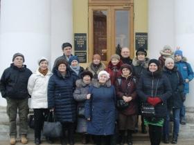 Экскурския для слабослышащих в Таврический дворец