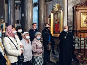 Экскурсия в Казанский собор для неслышащих