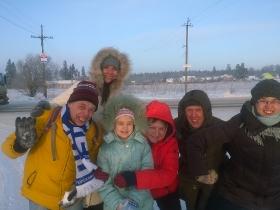 Зимний лагерь для общины