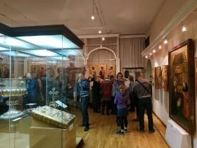 Экскурсия для неслышащих в Музей истории религии