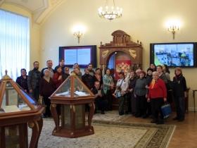 Община неслышащих посетила Президентскую библиотеку имени Б.Н. Ельцина